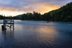 Sunset at 11PM (HDR Photo)